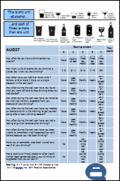 AUDIT: Alcohol Use Disorders Identification Test & Guidelines