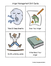 anger management skill cards free social work tools and resourcesanger management skill cards