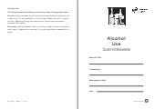 Alcohol Use Questionnaire