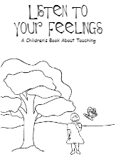listen to your feelings a childrens book about touching - Feelings Coloring Book