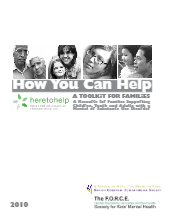 A Toolkit for Families: A Resource for Families Supporting Children, Youth and Adults with a Mental or Substance Use Disorder