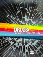 Drugs: Shatter the Myths brochure for adolescents