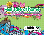 Children's booklet - Feel safe at home What to do if violence is happening around you-thumbnail