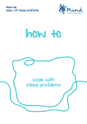 How to cope with sleep problems booklet-thumbnail