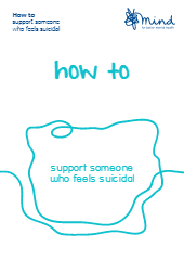 How to support someone who feels suicidal booklet-thumbnail