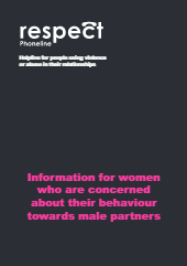 Information for women who are concerned about their behaviour towards male partners-thumbnail