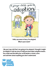 A younger child's guide to adoption booklet-thumbnail