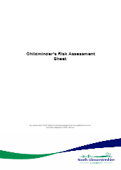 Home safety check - risk assessment (template)-thumbnail