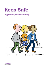 Keep Safe A guide to personal safety-thumbnail