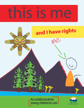 This is me and I have rights An activity book for young children in care-thumbnail