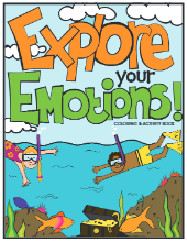 Explore Your Emotions Coloring Activity Book